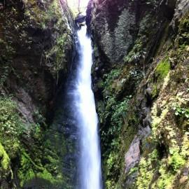Cascada el Golpe. Manta Cundinamarca