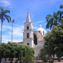Iglesia San Martin de sardinata Norte de Santander